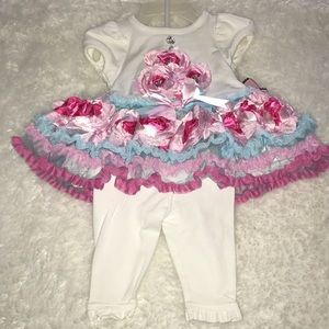 New Baby Girl Two Piece Set